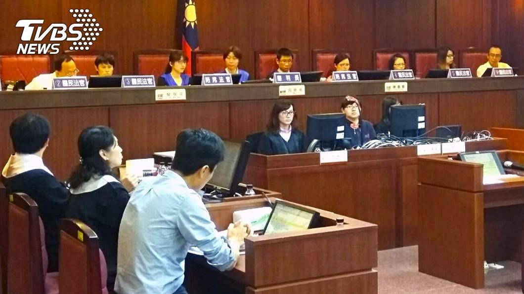 地方法院舉辦模擬法庭。(圖/中央社資料照) 國民法官法三讀 人民將與法官共同審判刑案