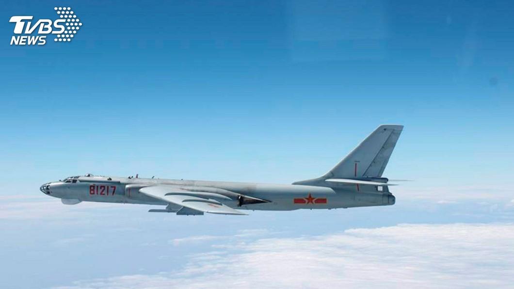 圖/達志影像路透社 共機繞台 中國國防部宣稱針對台獨