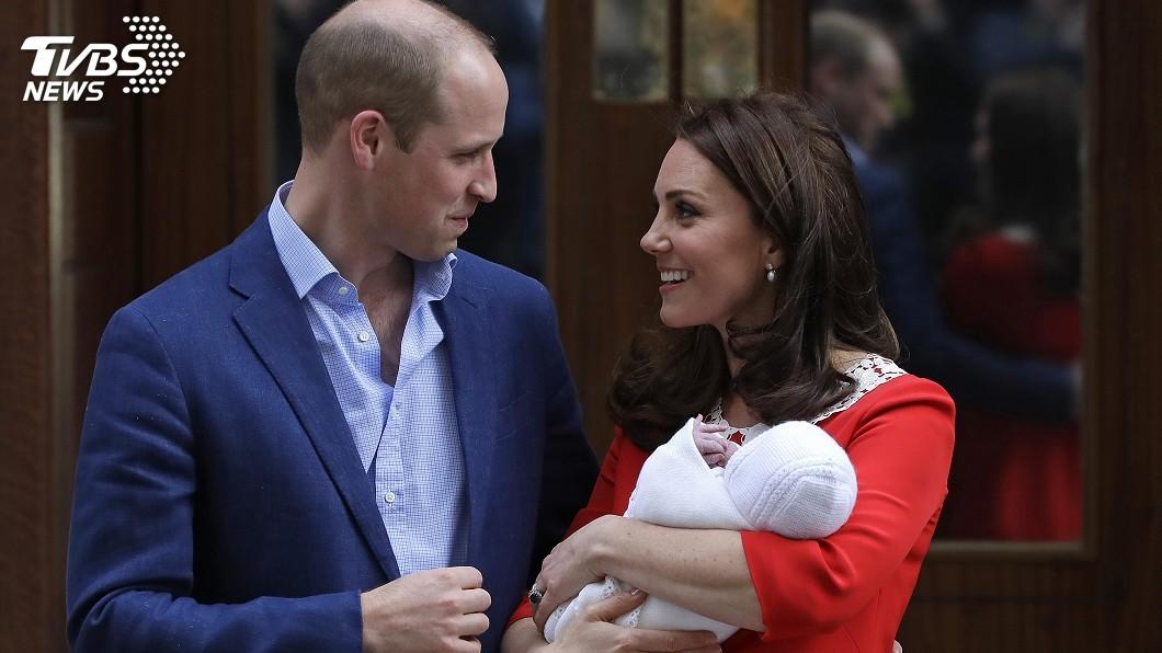 圖/達志影像美聯社 威廉王子新生兒名字? 英媒猜測可能是這個