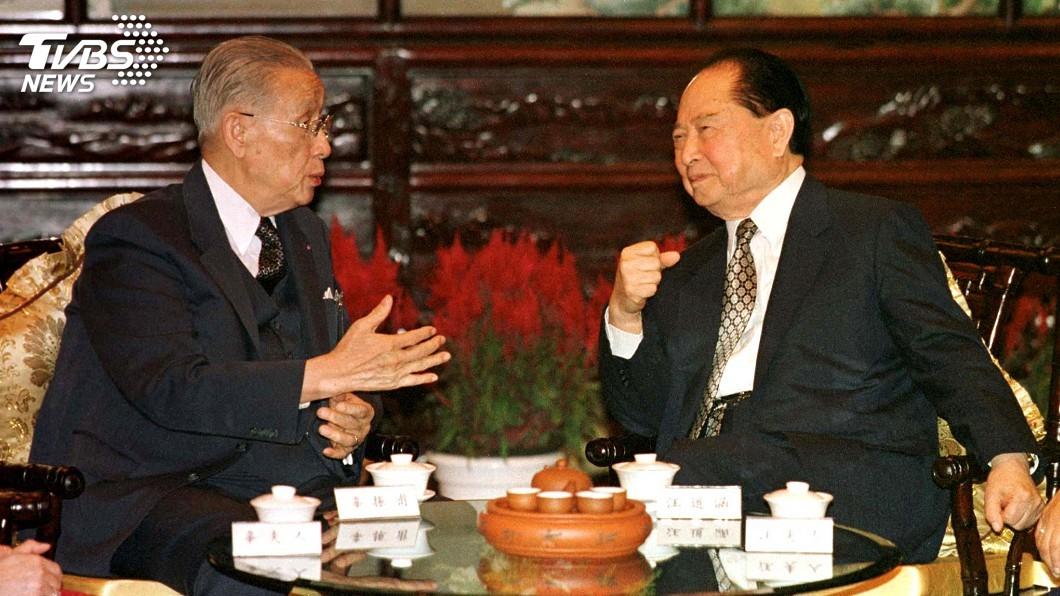 圖/達志影像路透社 辜汪會談25周年 陸委會籲北京和平溝通
