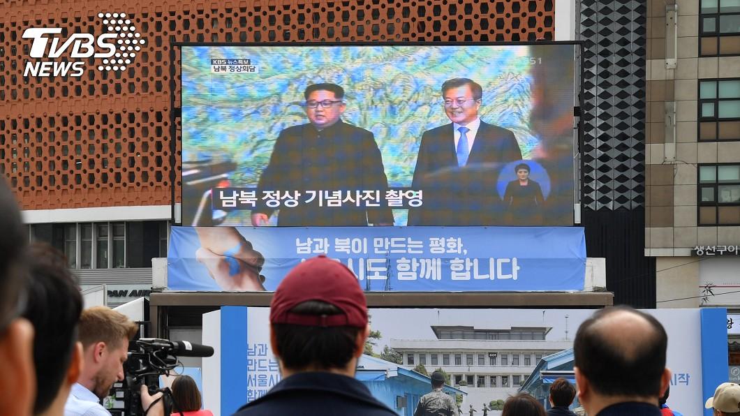 圖/中央社 南北韓峰會 港學者:核問題仍是障礙