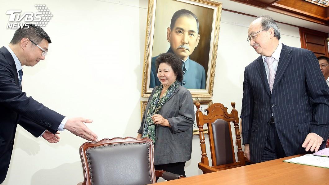 圖/中央社 支持蘇貞昌! 陳菊:做好總統的幕僚長