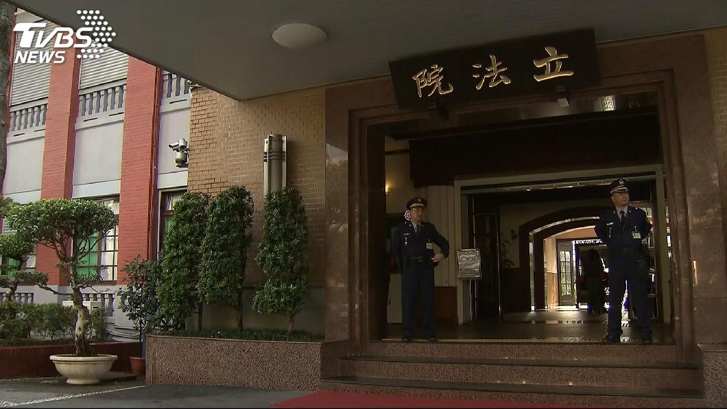 圖/TVBS 立院臨時會第1次會議 處理公投法等案