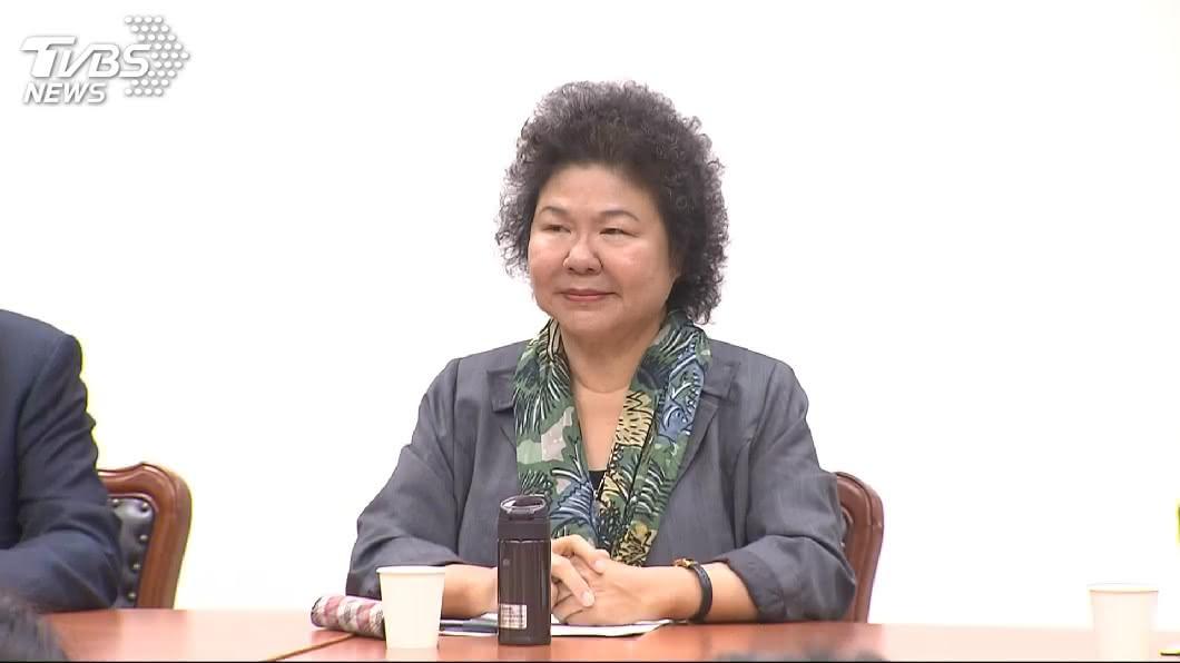圖/中央社 遭林濁水指為總統私人秘書 陳菊辦公室:不實指控