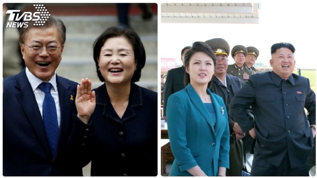 圖/達志影像路透社 文金會插曲 兩韓第一夫人都是歌手出身