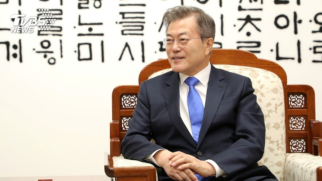圖/達志影像路透社 北韓難民之子文在寅 力促兩韓高峰會