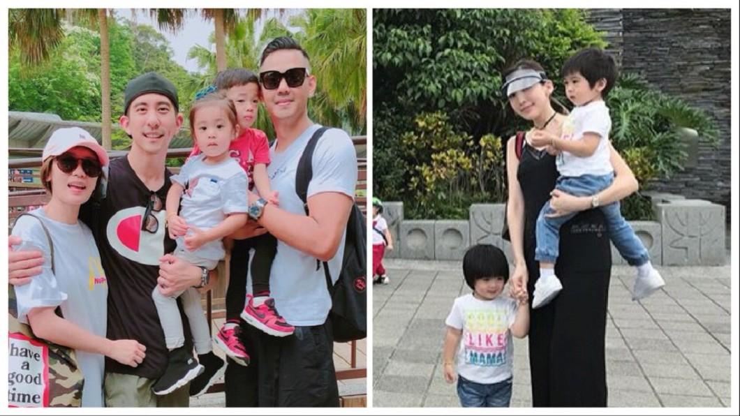 圖/翻攝自范瑋琪臉書,陳若儀IG 星二代們讀同間幼稚園?咘咘、飛翔和男神的雙胞胎都來了