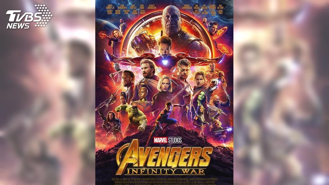 圖/達志影像TPG 《復仇者3》全球吸金186億 破兩大新片紀錄