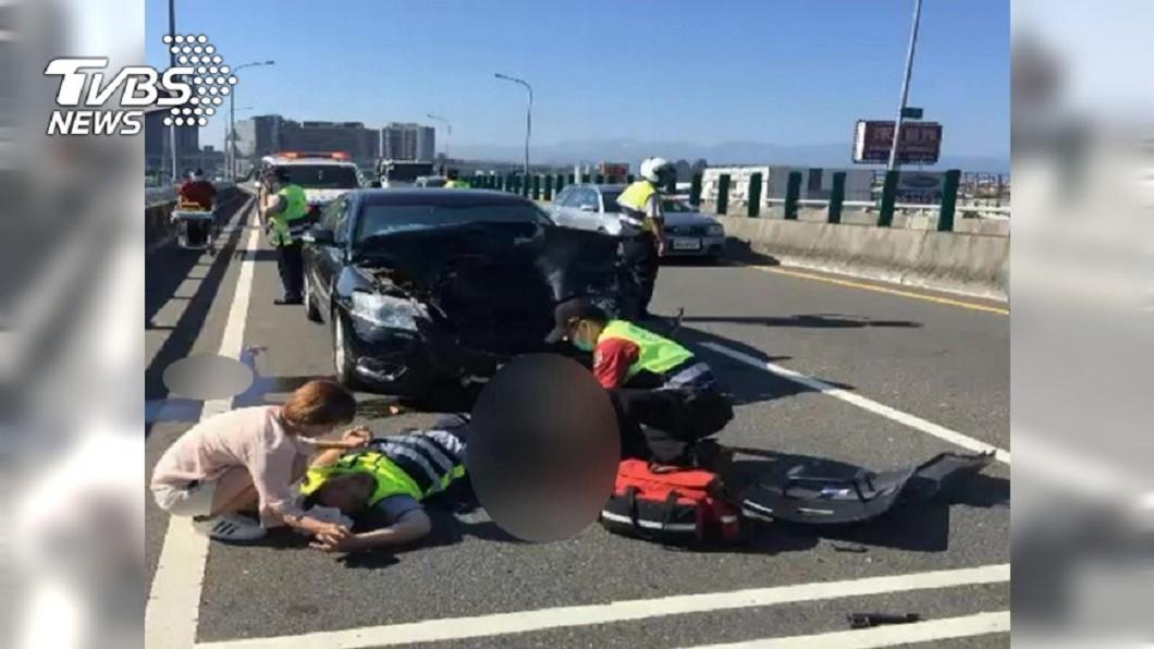 圖/TVBS資料照 警遭酒駕女撞殘截肢!母借車卻因這原因免賠千萬