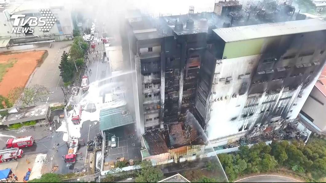 圖/TVBS 敬鵬大火現場指揮疏失釀8死 監察院糾正桃園市府