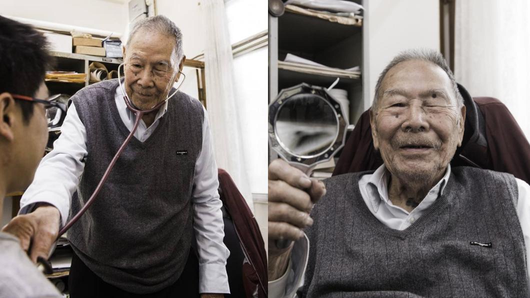 嘉義市99歲張始鵬醫師,還在看診。翻攝自/李俊俋臉書 「行醫超過一甲子」99歲老醫生仍堅持每日看診