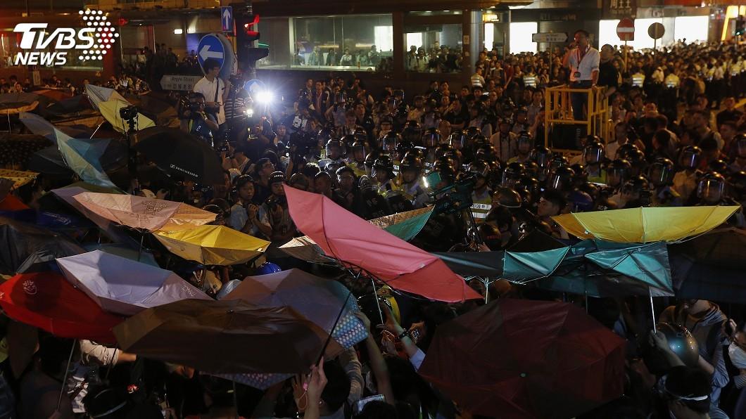 圖/達志影像路透社 港旺角騷亂 9名被告暴動罪名成立