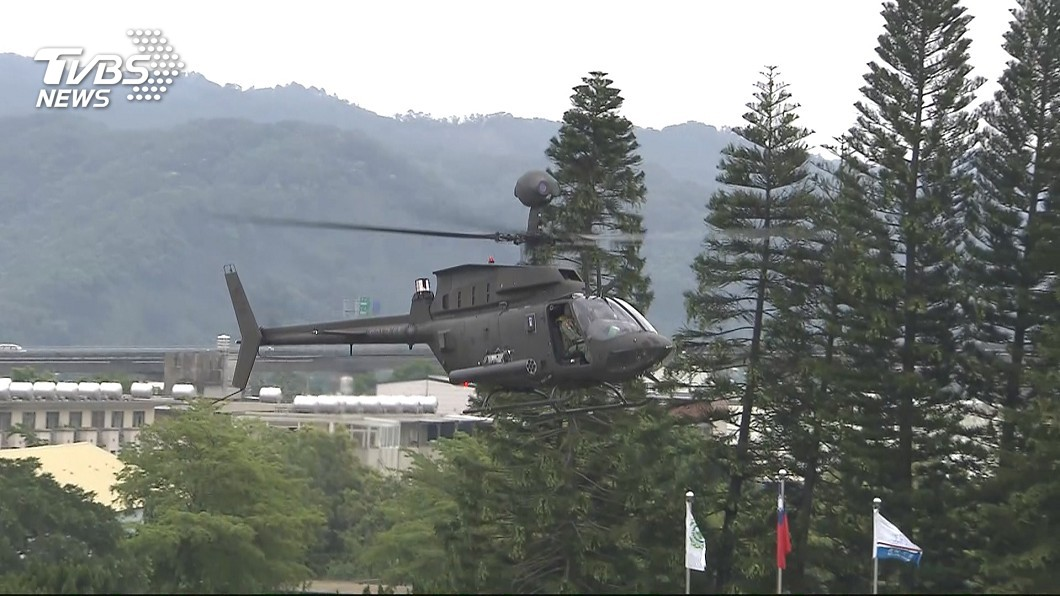 圖/TVBS資料照 新竹空軍基地直升機「起飛3分鐘重落地」 2人到院前死亡