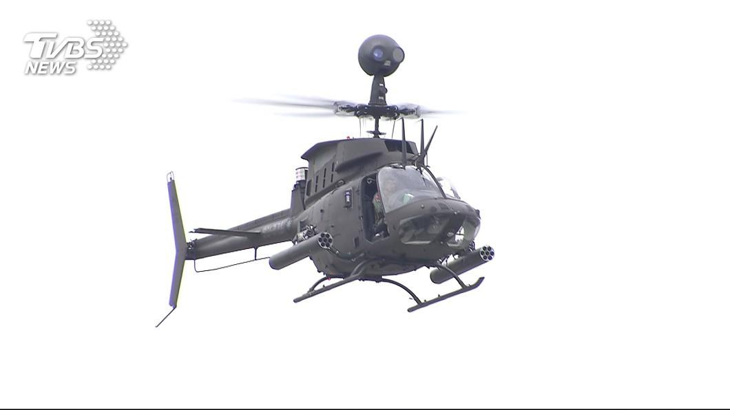 (示意圖/TVBS資料畫面) 正副駕駛均殉職 航特部:同類直升機暫停任務