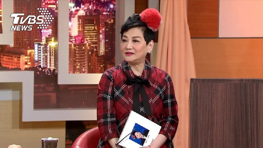 圖/TVBS資料畫面 電視史百科全書張小燕 獲金鐘54終身成就獎