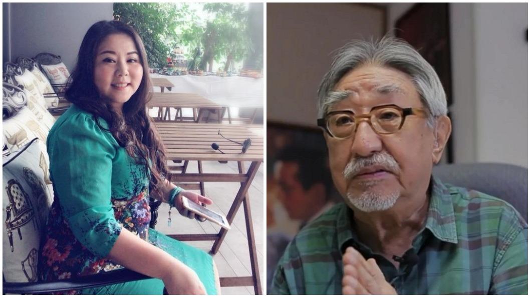圖/翻攝自鍾絲雨老師臉書(左)、TVBS(右) 「逢九必留意」 命理師一個月前埋伏筆:對孫叔叔不利