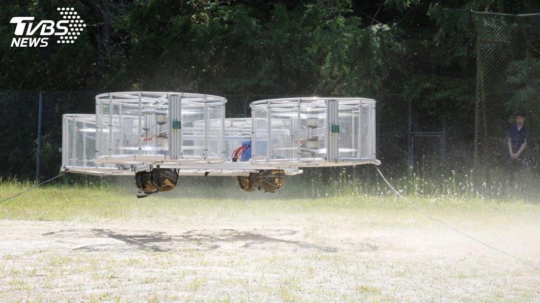 圖為飛天車模型。圖/達志影像美聯社