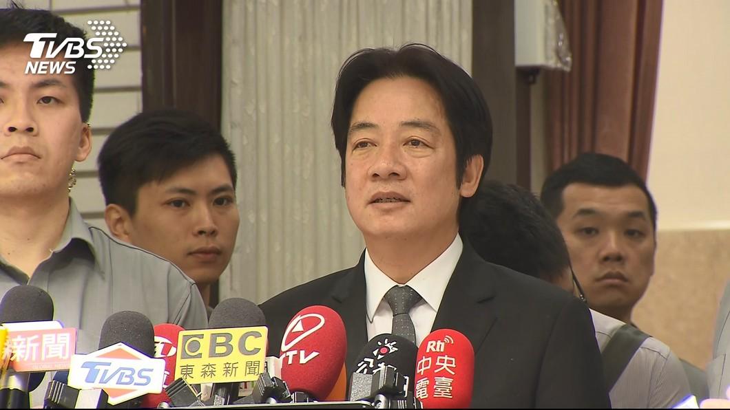 圖/TVBS 台南會展中心動土 賴清德感謝兩前閣揆