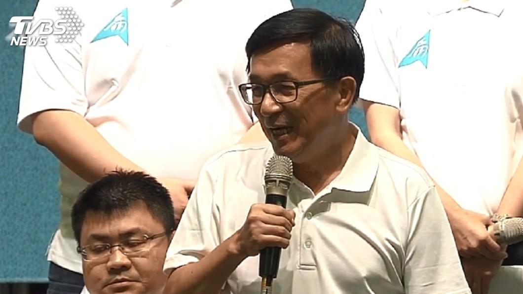圖/TVBS 「輸就輸別牽拖!」 扁:沒319一樣贏總統大選