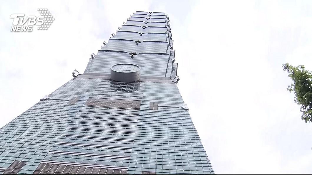 圖/TVBS 去年獲利表現佳 台北101每股配息1.304元