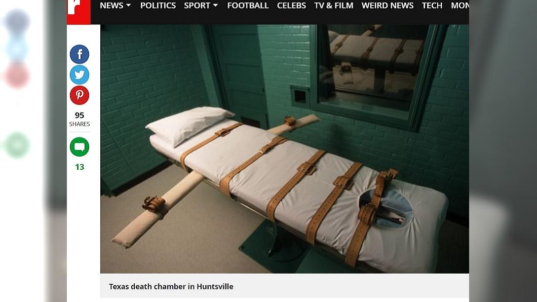 死囚躺上床後會被注射毒液,3分鐘內斷氣。圖/翻攝自《鏡報》 目睹280死囚斷氣 前記者:內心有股罪惡感