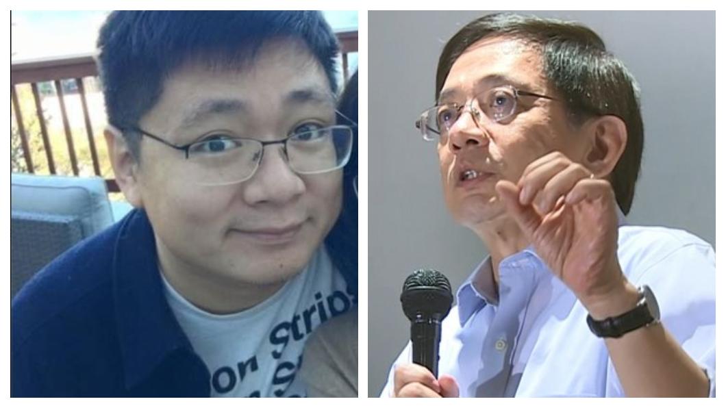 合成圖/翻攝自管維良臉書、TVBS資料畫面 「拔管」後首發聲 管中閔兒挺父「俠義的英雄」