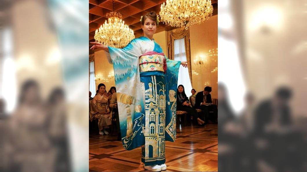 俄羅斯版和服。圖/IG kimono_project