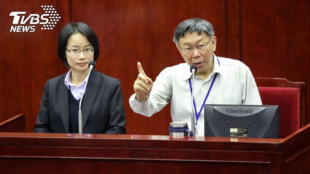 圖/TVBS 吳音寧拒到議會備詢 柯文哲:醜媳婦總要見公婆