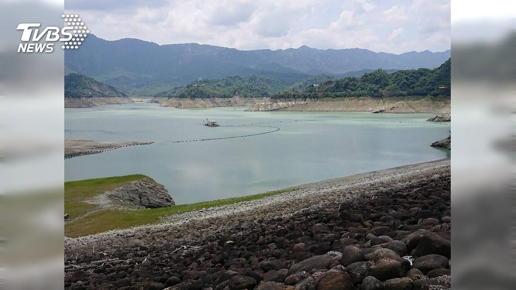 。圖/南水局提供 鋒面解渴!曾文水庫進帳200萬噸水 南部水情暫紓解