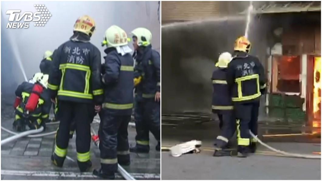 圖/TVBS 別霸凌…小隊長穿舊消防衣被罵 同仁:他只想救人