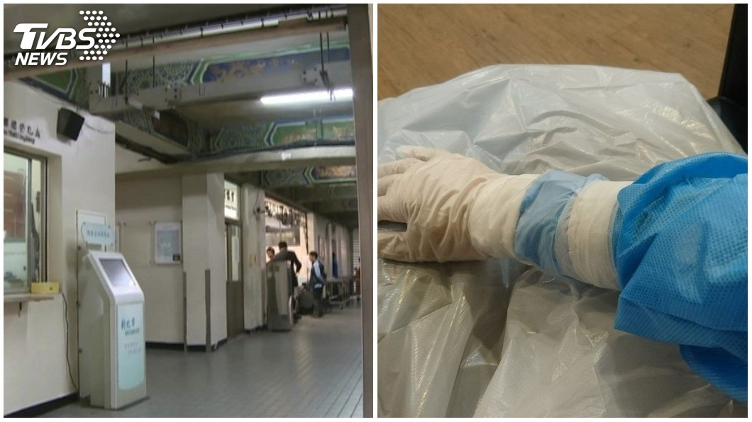 圖/TVBS(左)、翻攝自臉書「爆怨公社」社團 房東拒租「送行者」 禮儀師:他們嫌我全身屍臭味