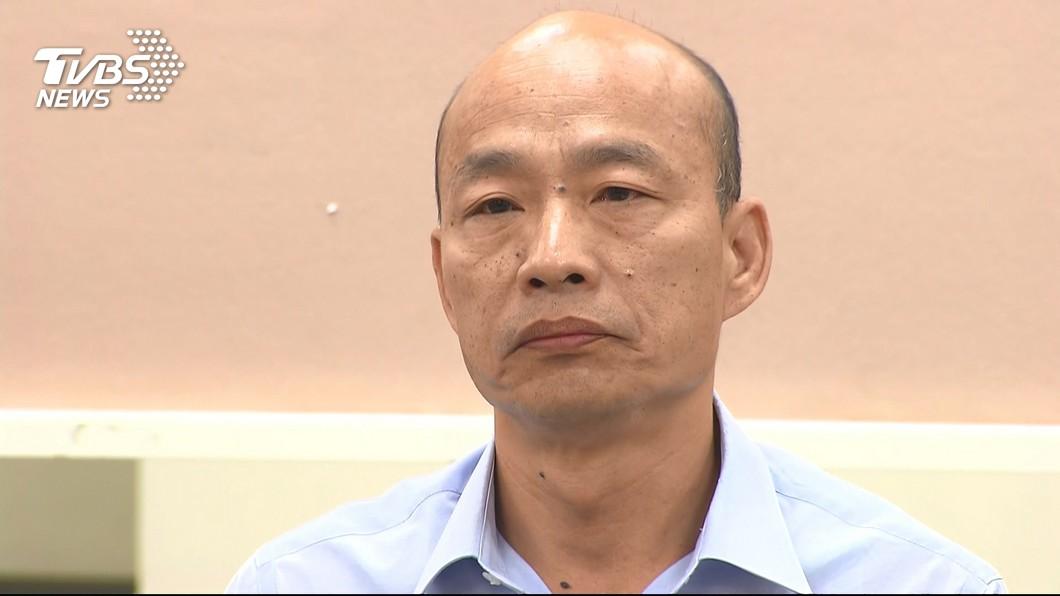 圖/TVBS資料畫面 議員批李佳芬昔秘書變高官 韓國瑜指兩套標準