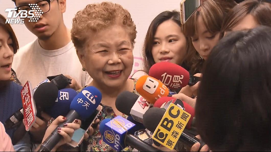 圖/TVBS資料畫面 被抗議柯P砍敬老金 柯媽:身體不好拿1500幹嘛?