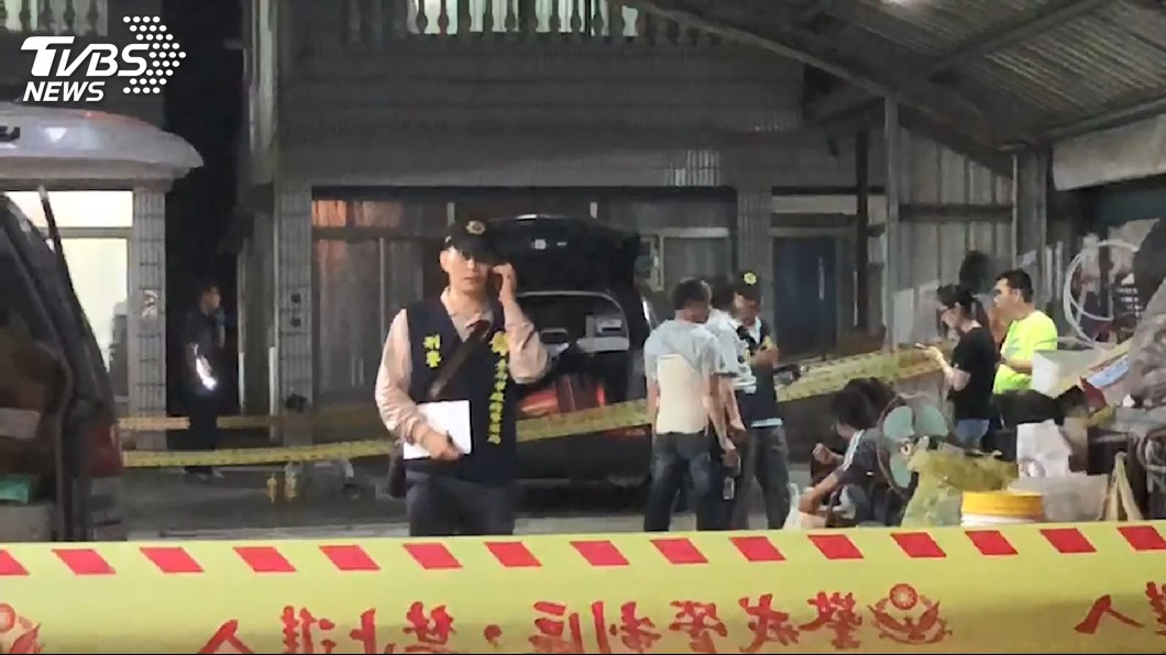 圖/TVBS 疑劫財害命! 2戶民宅3人慘死陳屍屋內