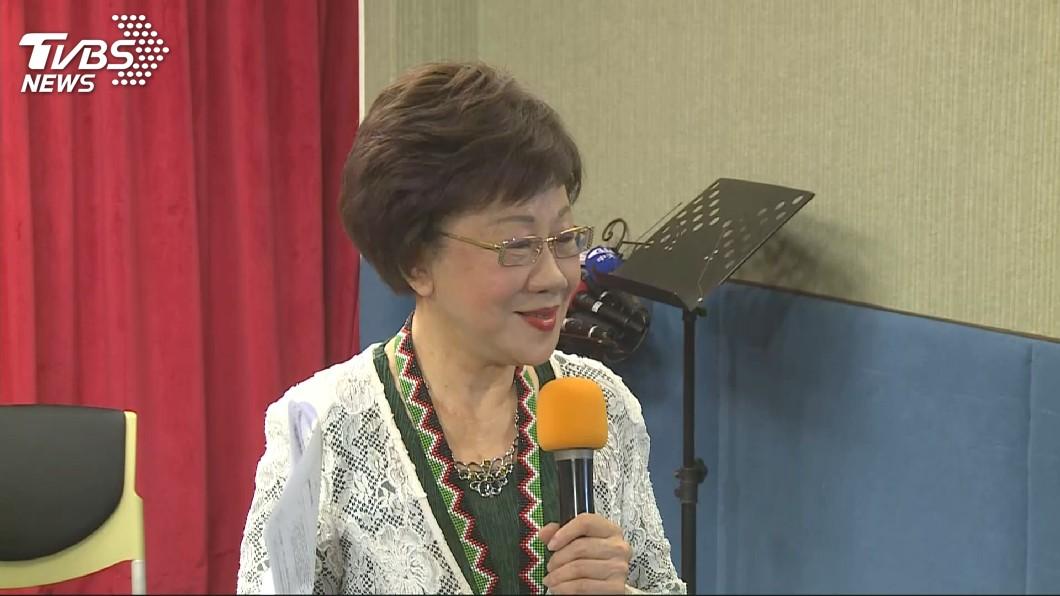 圖/TVBS 胡佛一生捍衛民主和人權法治 呂秀蓮感佩