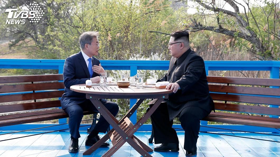 圖/達志影像美聯社 南北韓開會落實板門店宣言 可能於本週舉行
