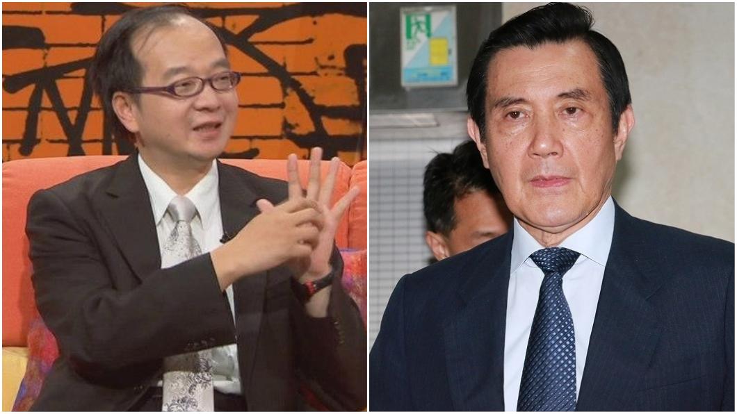 圖/翻攝自王瑞德臉書(右)、中央社(左) 馬英九被判刑4個月 名嘴:馬坐牢請500份雞排!