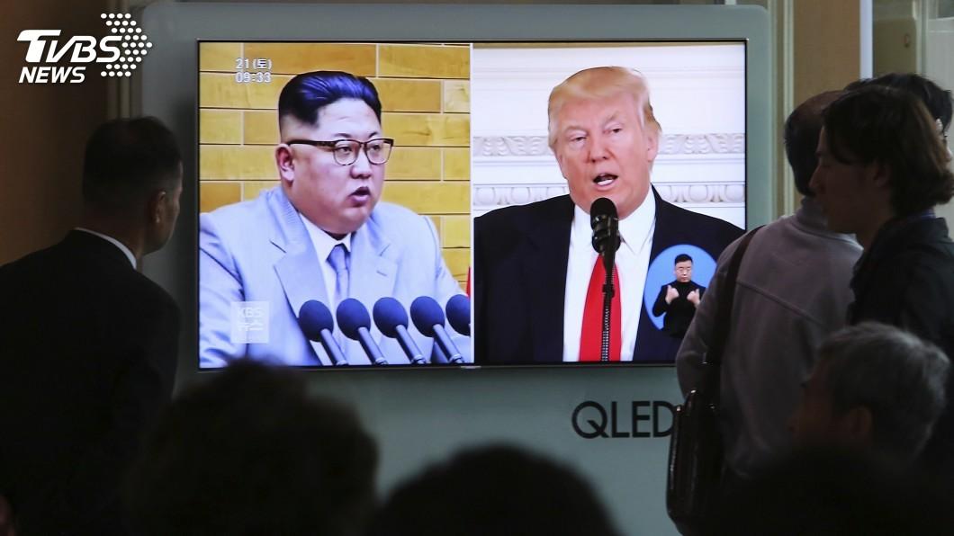 圖/達志影像美聯社 北韓揚言取消川金會 美國:繼續籌備