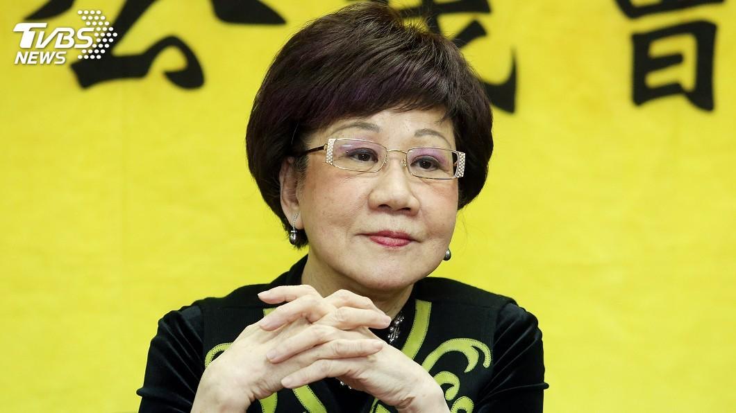 圖/中央社 呂秀蓮:陳水扁曾想爭取諾貝爾和平獎