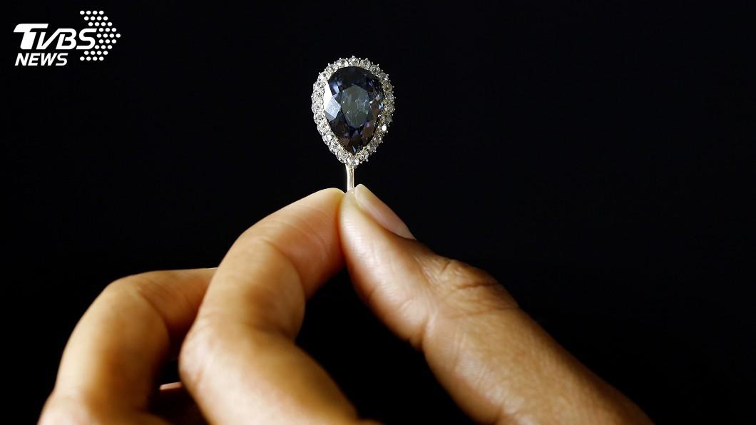 圖/達志影像路透社 歐洲王室留傳300年藍鑽 近2億天價拍出