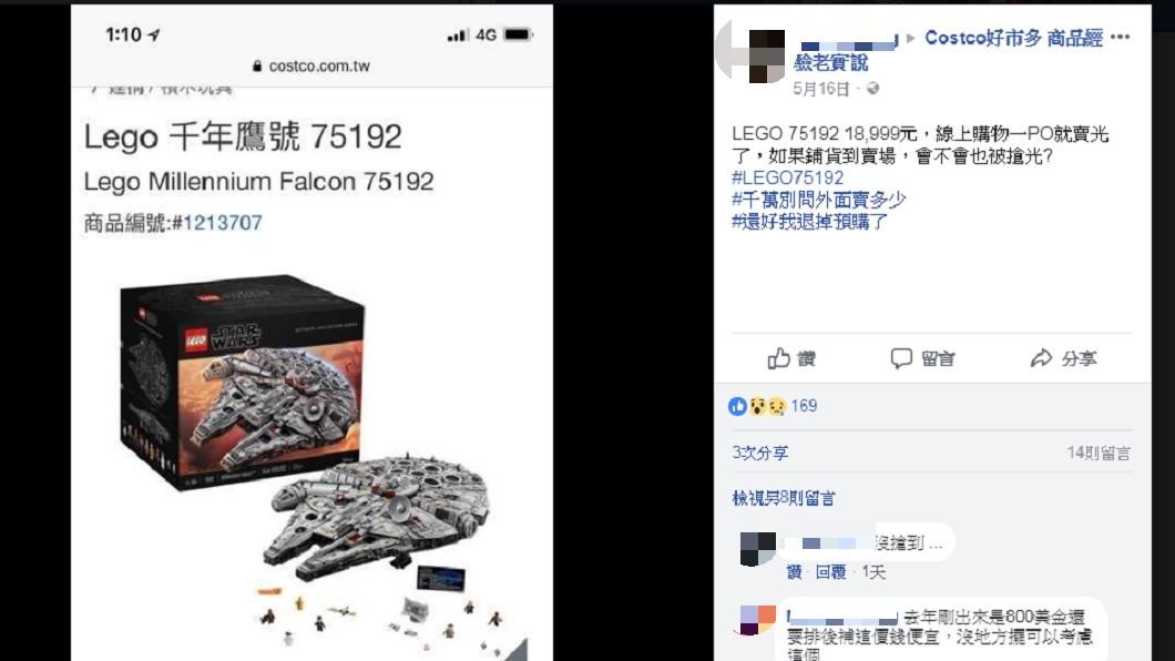 圖/翻攝自臉書  Costco好市多 商品經驗老實說