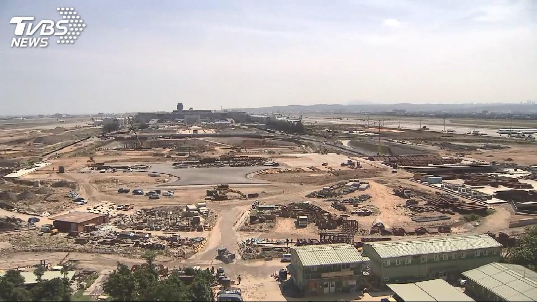 圖/TVBS 桃機第三航廈延宕 董座:明年9月一定開工