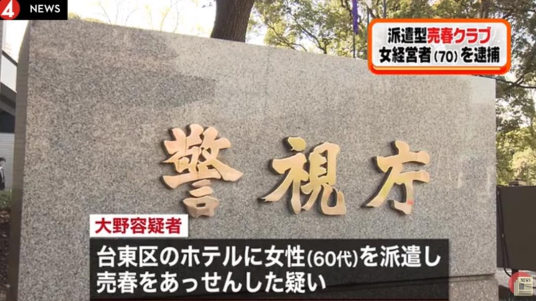 圖/翻攝自YouTube 賣淫版《慾望城市》 警破獲「13姬」最年長72歲