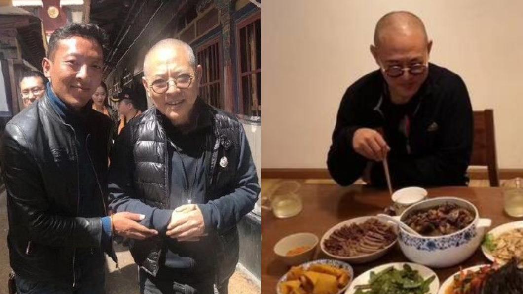 圖/翻攝自微博 李連杰患病憔悴似80歲? 「豪宅最新照」曝光神逆轉