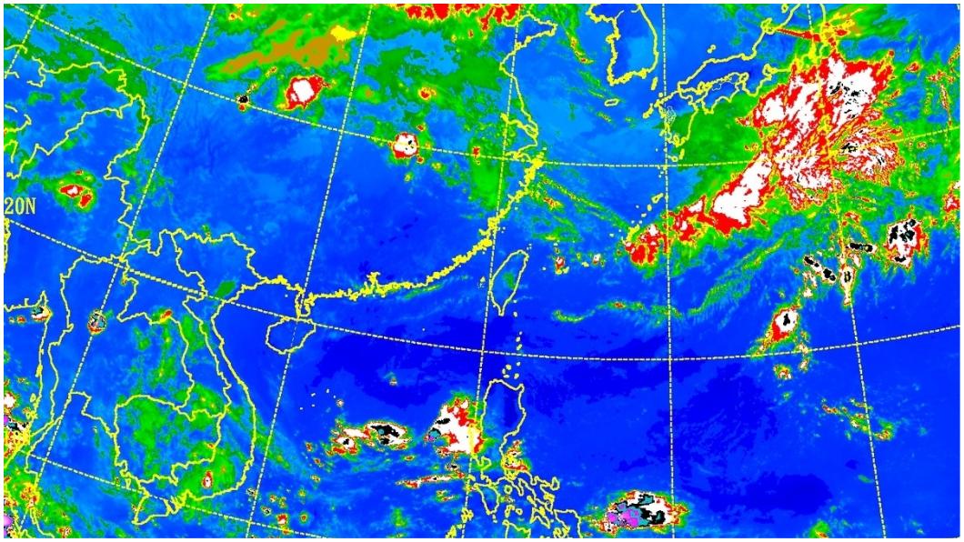 圖/中央氣象局 週三變天全台雨!大規模梅雨何時來 專家給答案