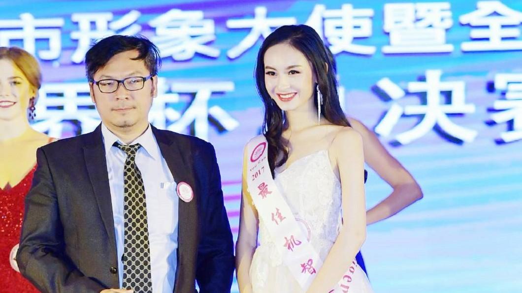詹富盛今年出任全球城市小姐選拔大賽的美學顧問。(圖/全球城市小姐選拔協會提供)