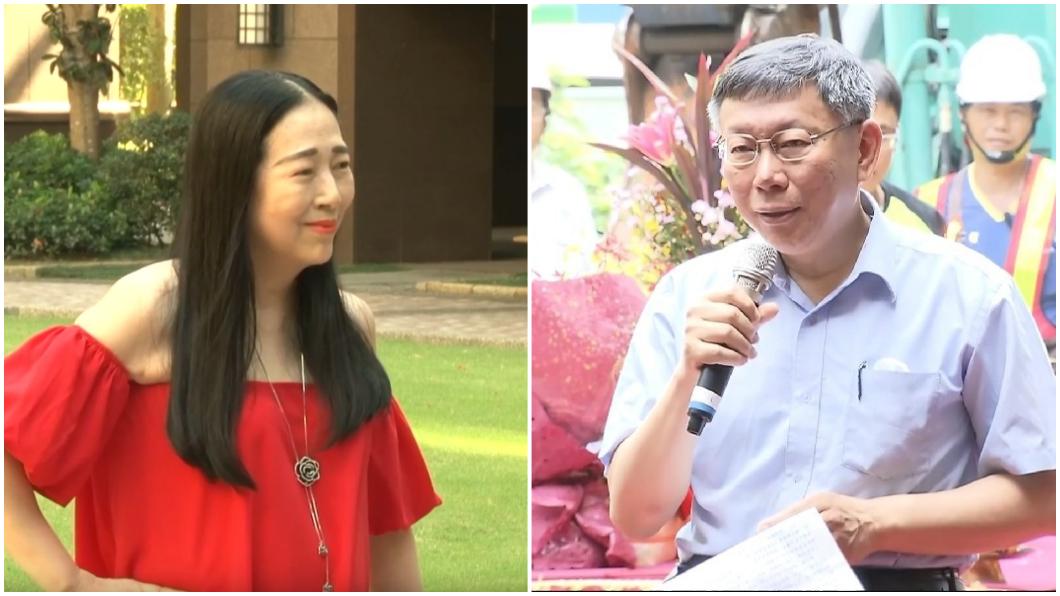 圖/TVBS 許純美「選上市長絕不貪」 柯P一句話神回