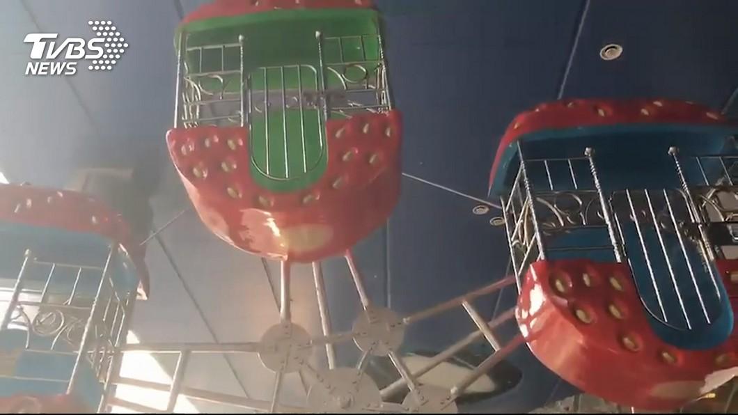 圖/TVBS 非固定式機械遊樂設施 內政部最晚7月提規範