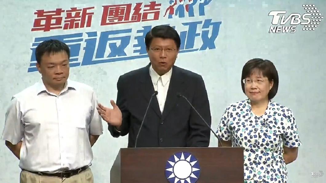 圖/TVBS 快訊/藍營台南市長初選結果 高思博戰黃偉哲