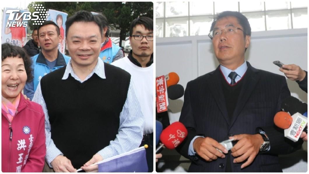 圖/中央社 國民黨台南市長高思博出線 黃偉哲盼君子之爭